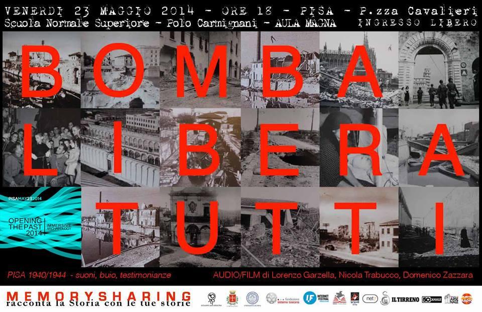 L'audio-film Bomba libera tutti alla conferenza Opening the Past