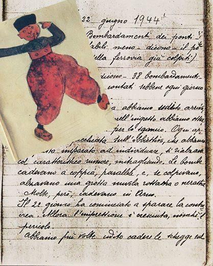 diario con disegno