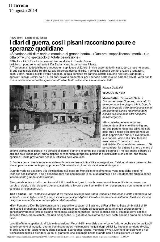 Il Tirreno 14 agosto 2014-1