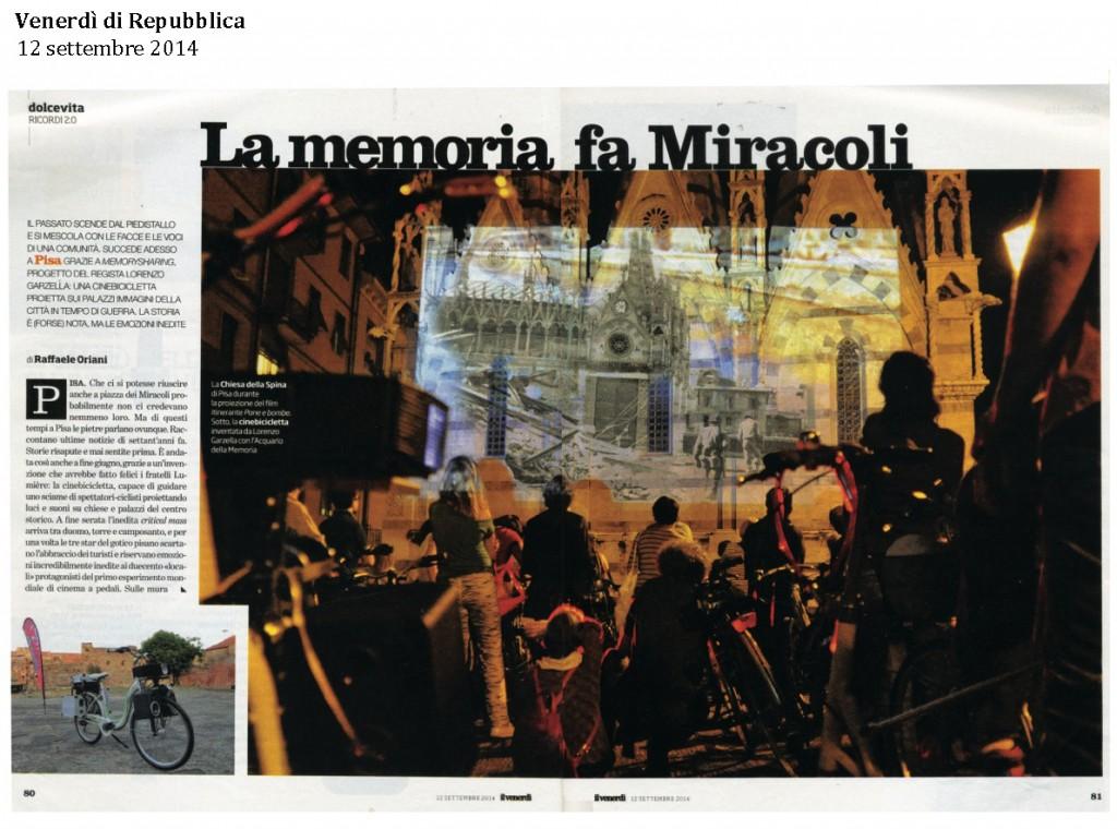 Venerdì di Repubblica 12 settembre 2014 1