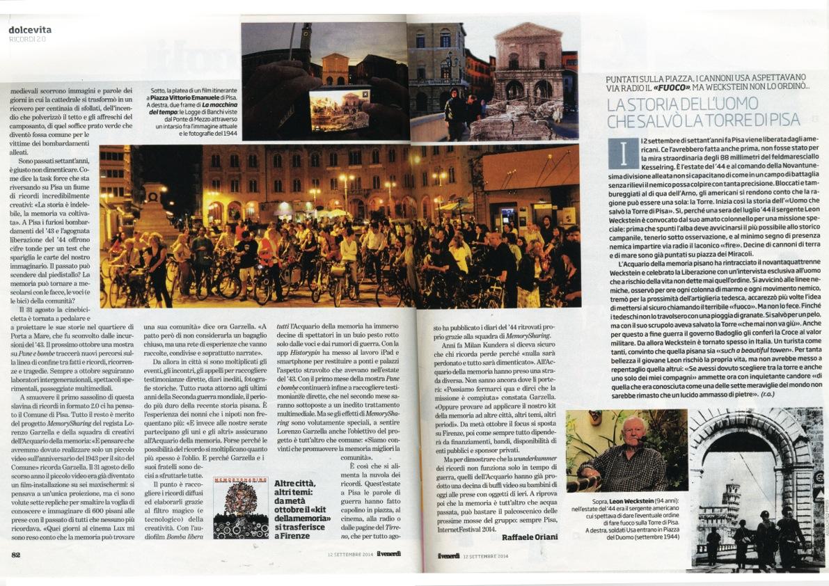 Venerdì di Repubblica 12 settembre 2014 2